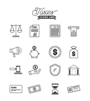 세금 시간 디자인