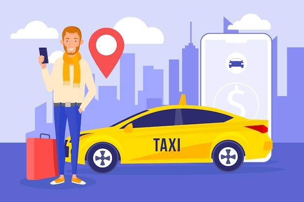 タクシーアプリのコンセプト