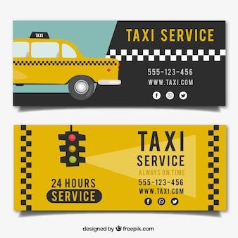 택시 배너