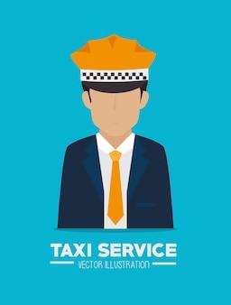 Taxi design, vector illustration.