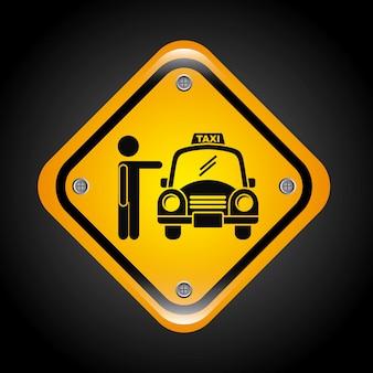 Taxi graphic design
