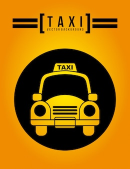 Taxi graphic design