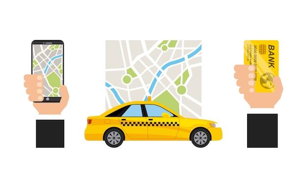 Taxi service public transport app technology