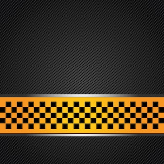 Taxi template background