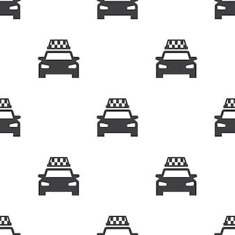 택시, 벡터 원활한 패턴, 편집 가능 웹 페이지 배경, 패턴 채우기에 사용할 수 있습니다.