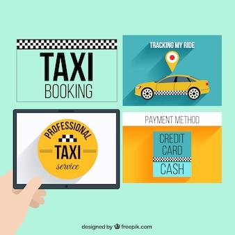 タクシーのwebテンプレート