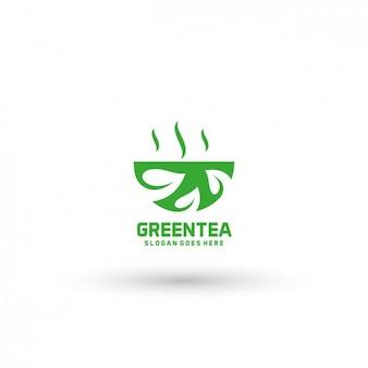 Tea company logo template
