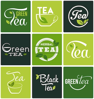 Tea designs collection