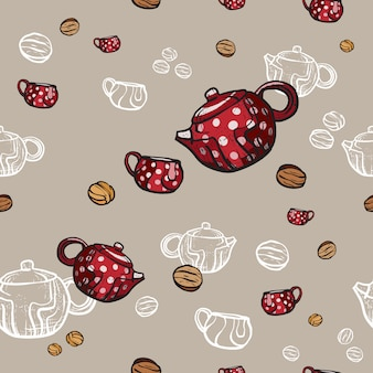 Tea party  pattern