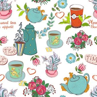 Tea seamless