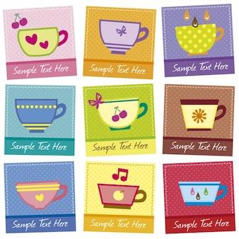 Tea time tags
