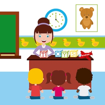 Дизайн учительской школы