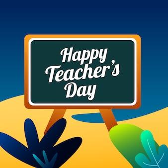 Teacher day beach