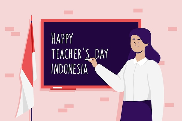 Teacher's day indonesia