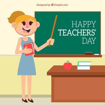 教師の日、教師の先生