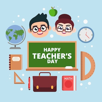Teachers celebrate happy tearchers' day