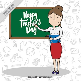 Gli insegnanti day background