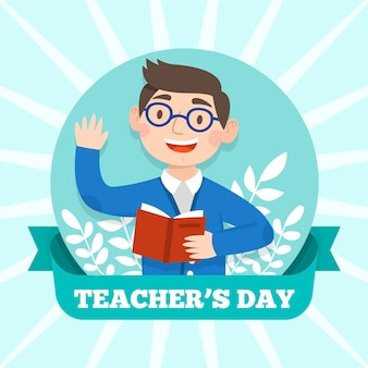 Teachers day concept