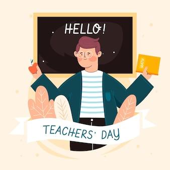 Teachers day concept