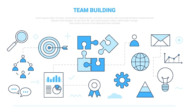 Team building people business concept