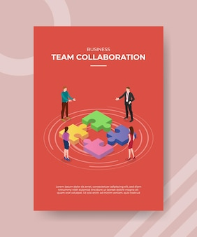Team collaboration concept