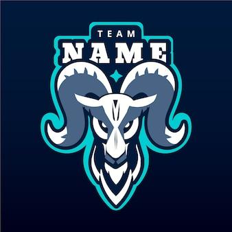 Team mascot logo