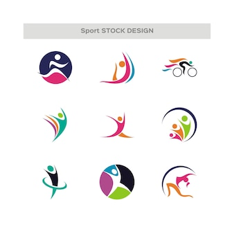 Teams and groups human figure shapes