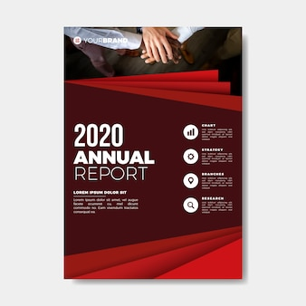 Teamwork hands annual report template