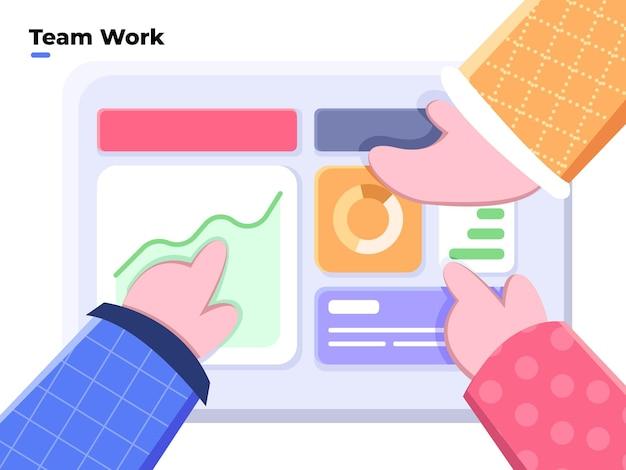 チームワークの計画とコラボレーションによるビジネス目標の達成