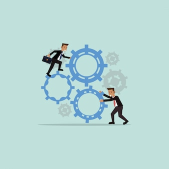 Teamwork related icons image