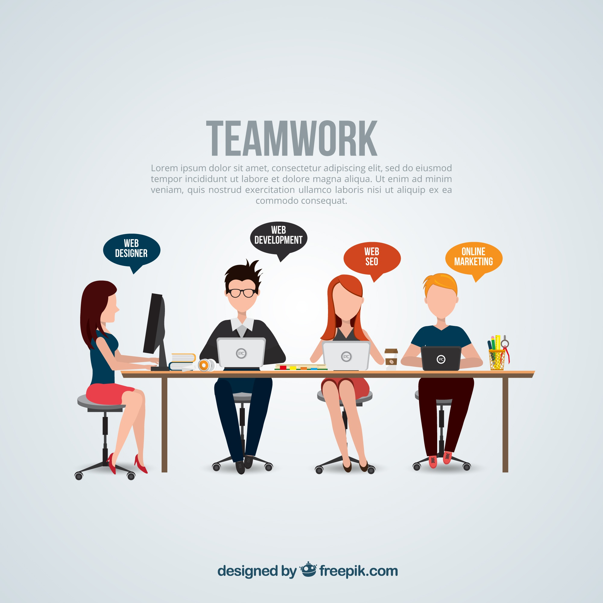Teamwork template