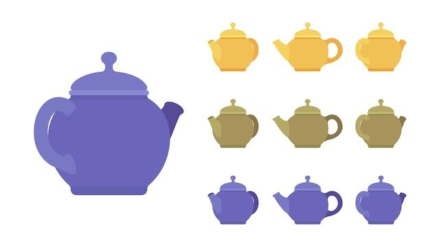 Teapot set, kitchen appliance