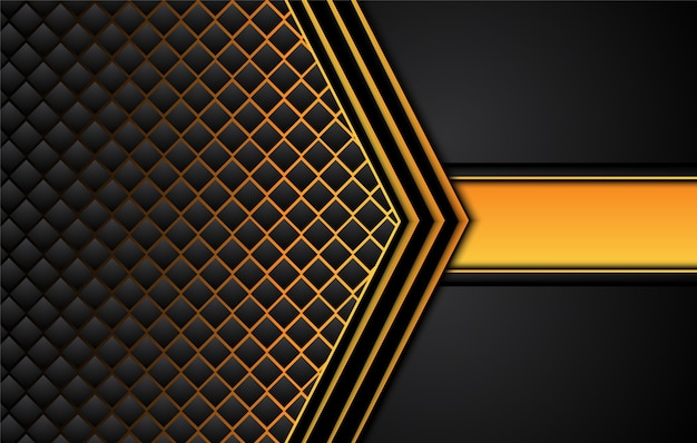 대비와 기술 검정색 배경 주황색 노란색 줄무늬입니다.