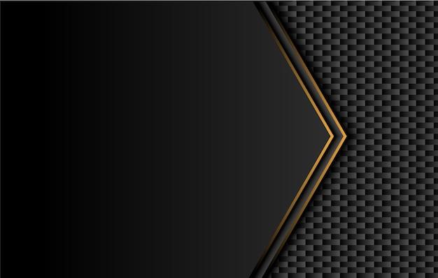 대비 노란색 줄무늬가있는 기술 검정색 배경.