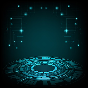 Tech circle and technology digital business