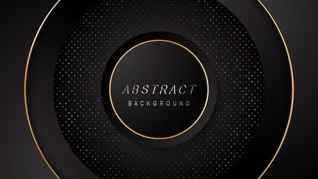 Tech dark abstract background