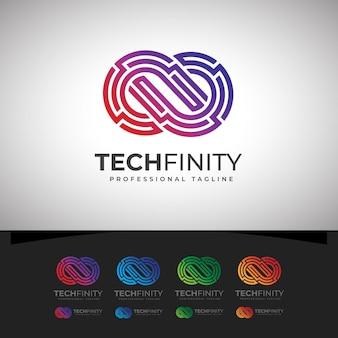 Tech infinity logo