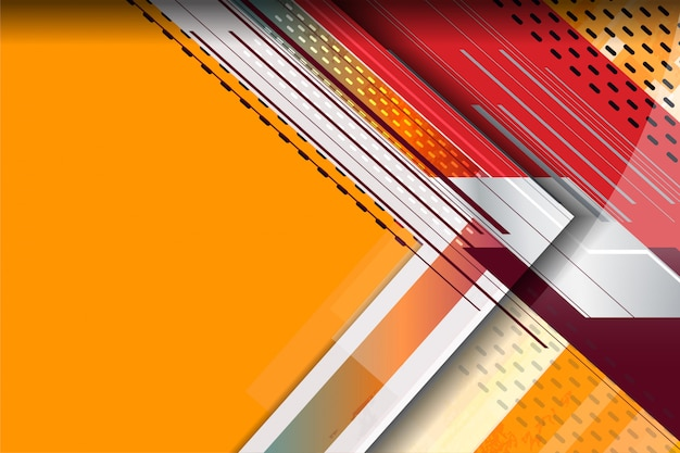 Tech stripes background