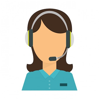 Technical assistant icon image