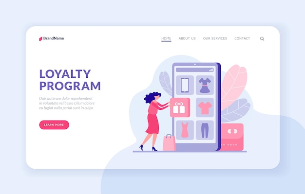 Technical support 24 7 landing page website banner template