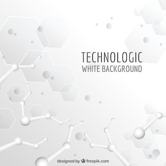 Technologic white background