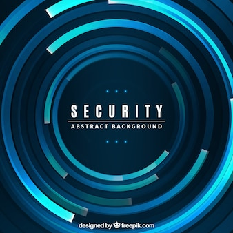 Technological abstract security background