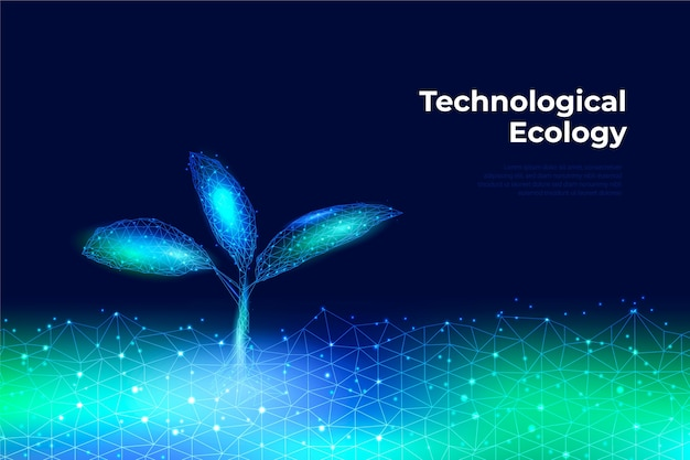 Technological ecology concept