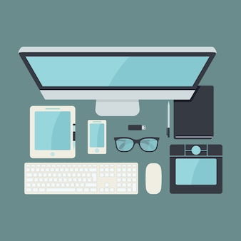 Technological elements design