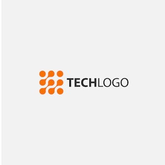 Technological logo design