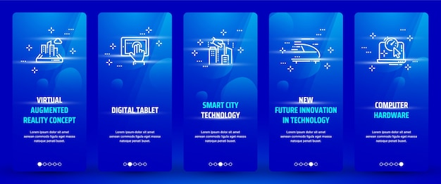 Technologies cards