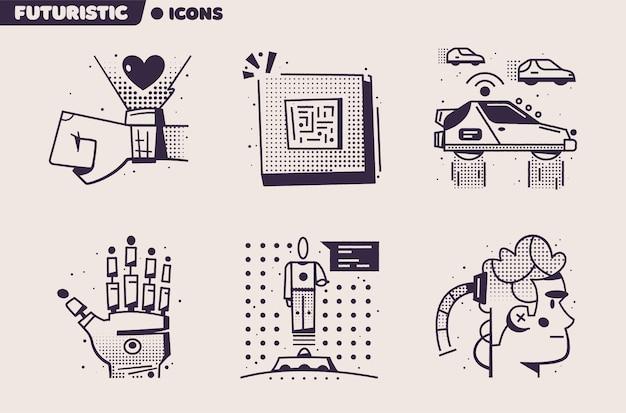 Technologies of the future illustration