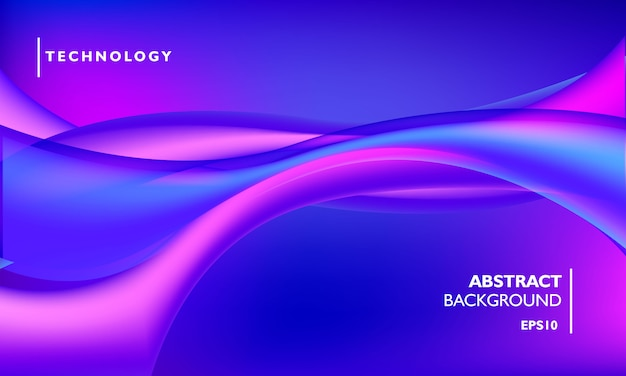 Technology abstract background template