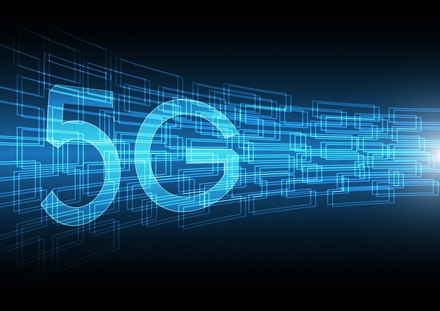 Technology abstract rectangle background