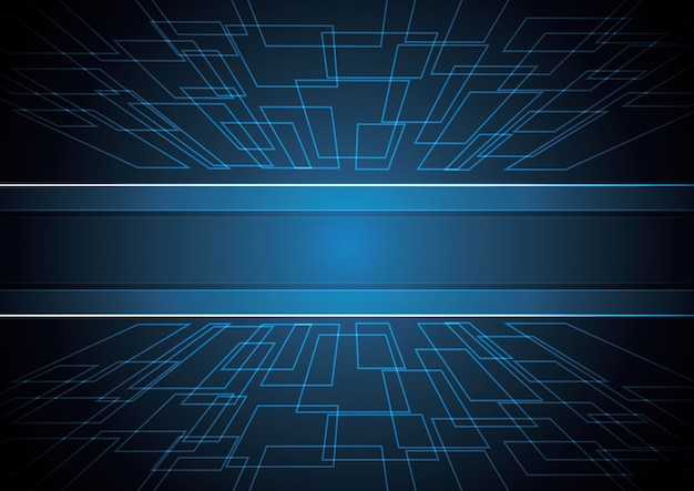 Technology abstract stripe background
